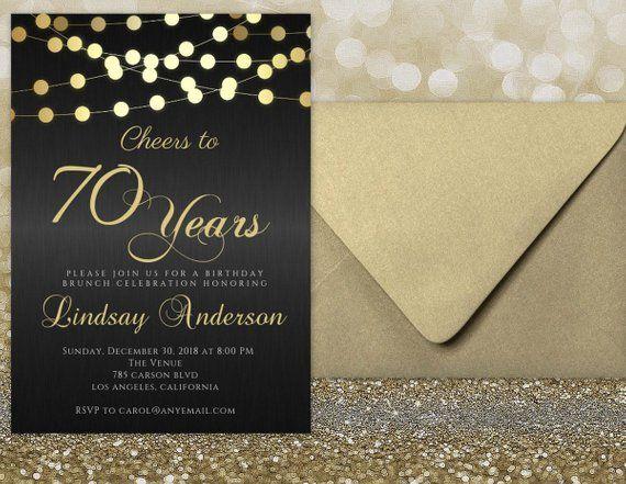 Image 0 70th Birthday Invitations 60th Birthday Invitations 70th Birthday Parties