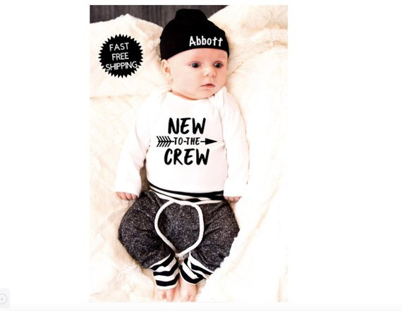 ea20a838f04b1 Newborn Outfit Newborn Boy Coming Home Outfit | Newborn Boy Clothes ...