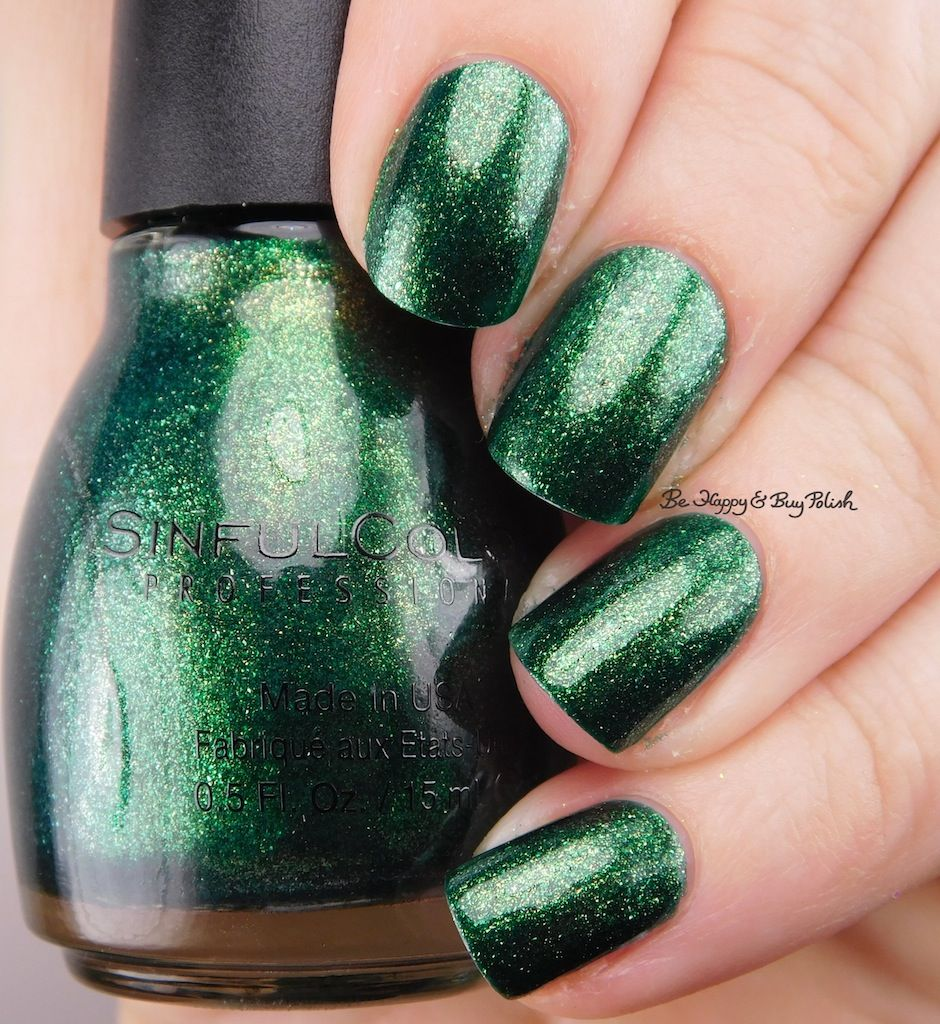 Sinful Colors Queen of Green | Be Happy And Buy Polish | 2017 My ...