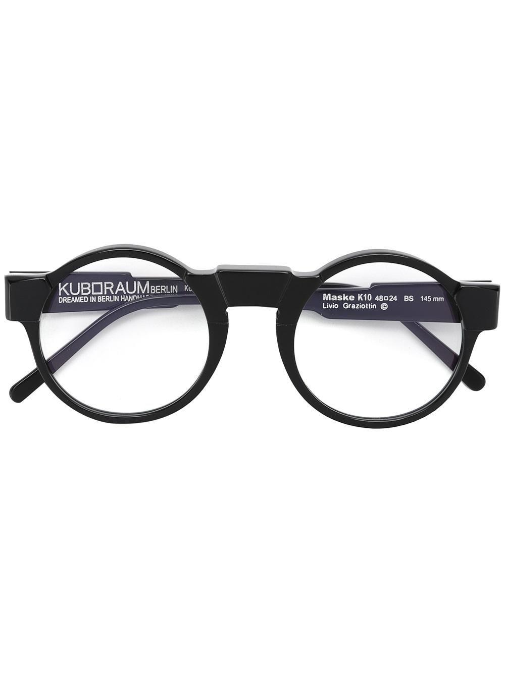2a28d0c41b Kuboraum round frame glasses
