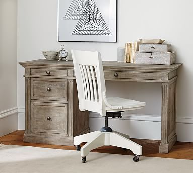 Livingston Small Desk, Gray Wash Livingston, Desks and Small spaces