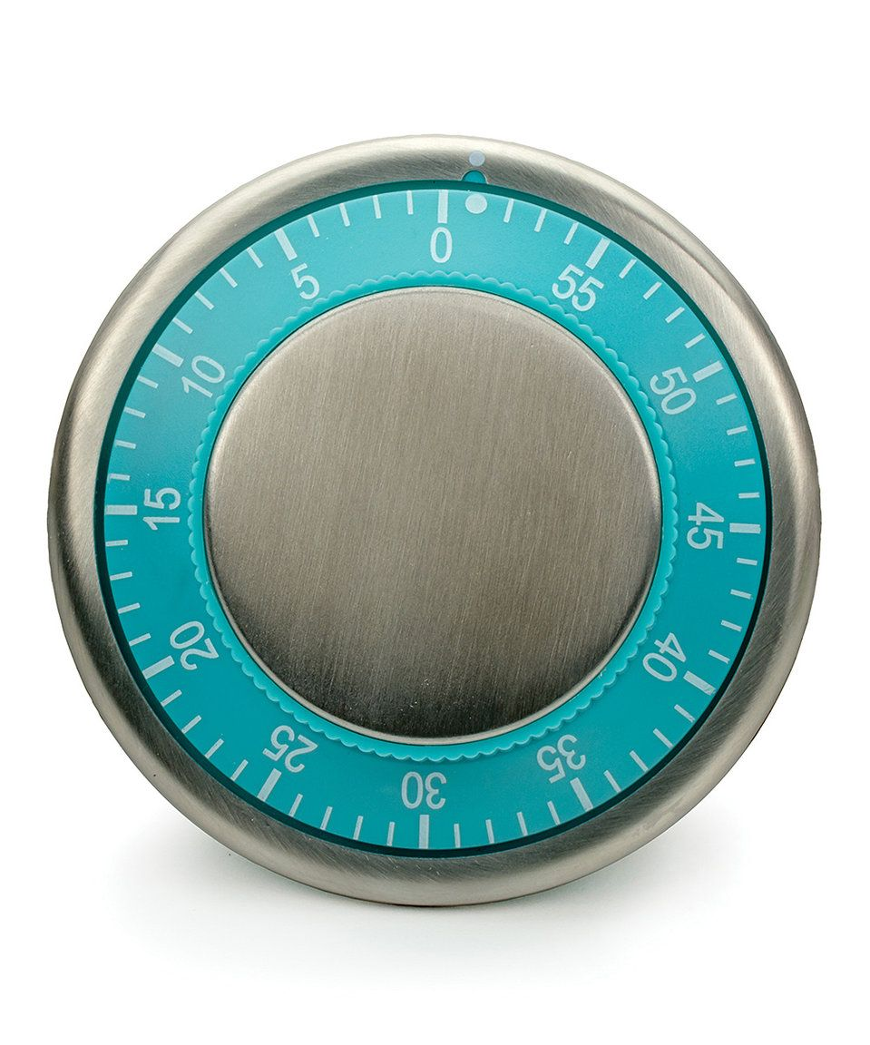 Take a look at this Turquoise Magnetic Kitchen Timer today ...