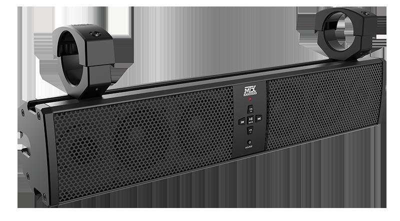 Universal 6 Speaker All Weather Sound Bar With Bluetooth Sound