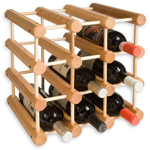Woodworking Wine Rack Oak Wine Rack Wine Rack Wine Bottle Rack