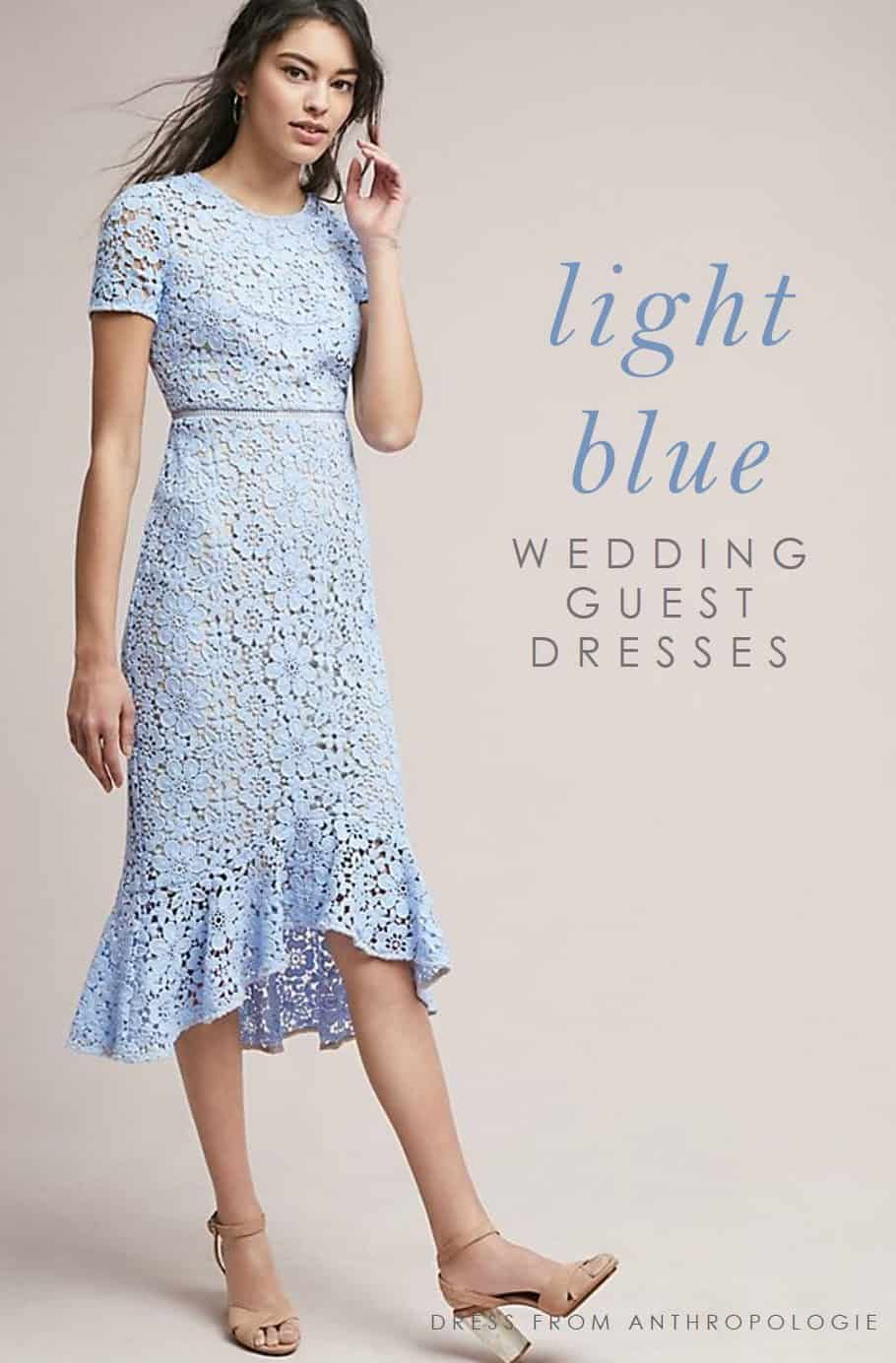 Cute Light Blue Dresses To Wear To Weddings Blue Wedding Guest Dresses Light Blue Wedding Dress Blue Wedding Dresses