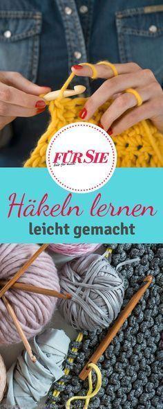 Wissen für Anfänger | Looms / crochet/ exa crafts | Pinterest ...