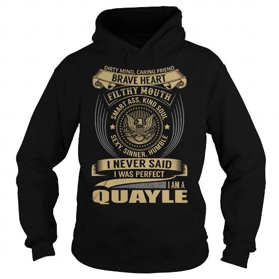 QUAYLE Last Name, Surname T-Shirt - #food gift #shirt diy. QUAYLE Last Name, Surname T-Shirt, shirt for women,hoodies/jackets. GET YOURS =>...