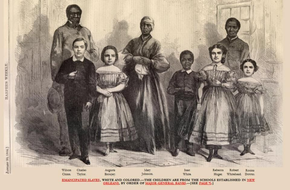 Are not Slavery white slave trade that
