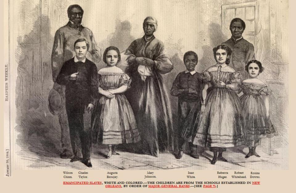 Idea and Slavery white slave trade