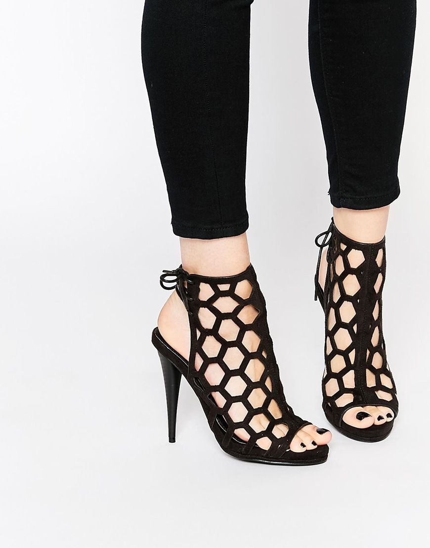 Buy Women Shoes / Missguided Honeycomb Heeled Sandal
