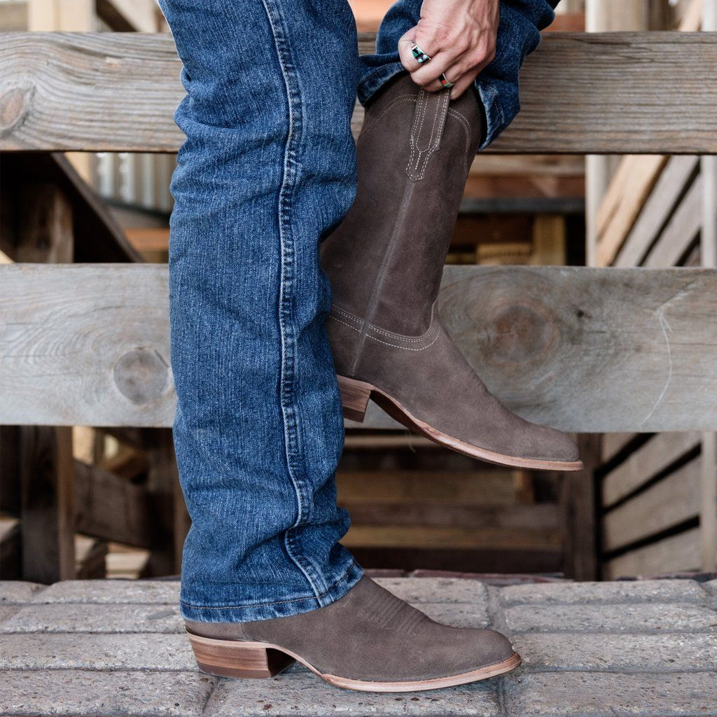 142ba26ef4e The Johnny | A Handmade, Waterproof Suede Cowboy Boot | Tecovas ...