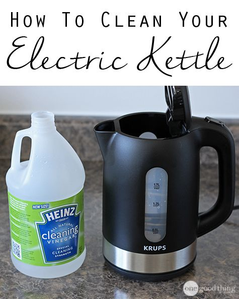 How to Clean Your Electric Kettle (With images) | Electric