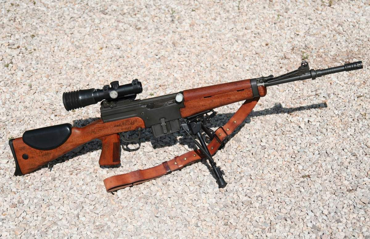 Incroyable MAS 49/56 MSE sniper   Gun   Feu et Arme VJ-61