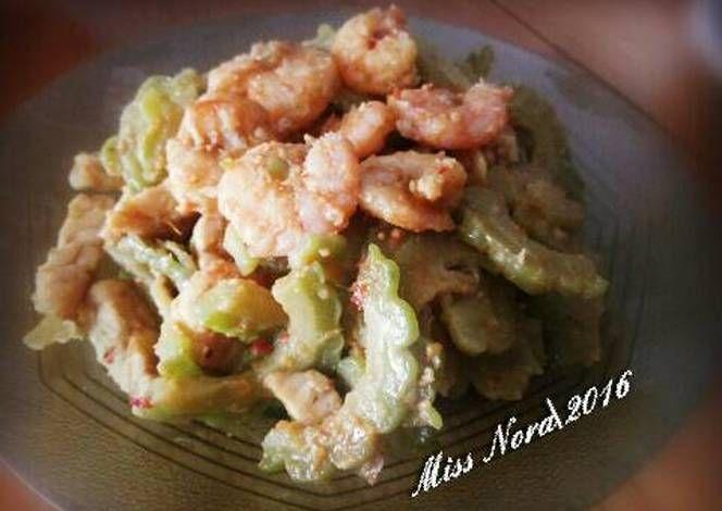 Resep Tumis Pare Udang Oleh Miss Nora Resep Makanan Resep Makanan Tumis