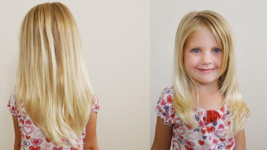 Kleines Mädchen Frisuren Für Lange Haare Kleines Mädchen