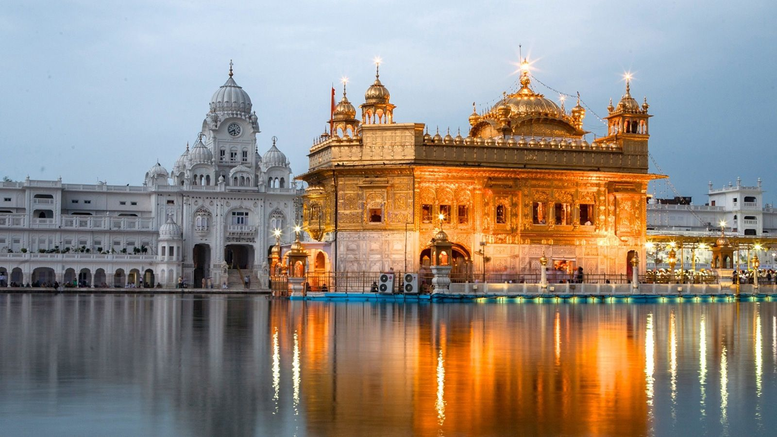 47 golden temple wallpapers, hd creative golden temple images