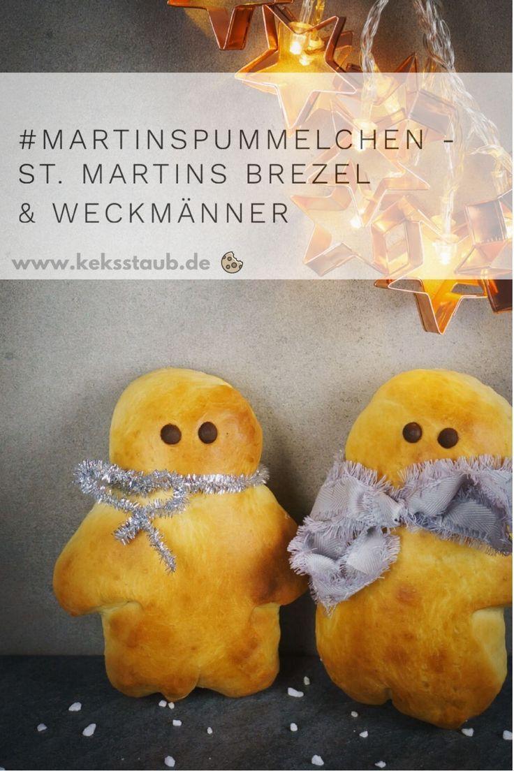 {St. Martin} Niedliche Pummelchen - Weckmänner & Martinsbrezel | keksstaub.de