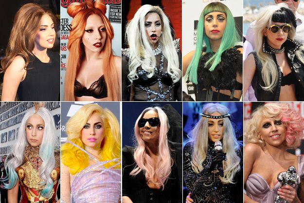 Favorite Lady Gaga Hair Color Readers Poll Lady Gaga Hair Hair Color Hair