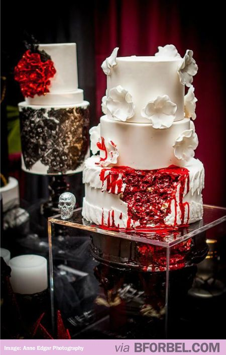 Epic Zombie Wedding Cake Anyone Walking Dead Fans In The House