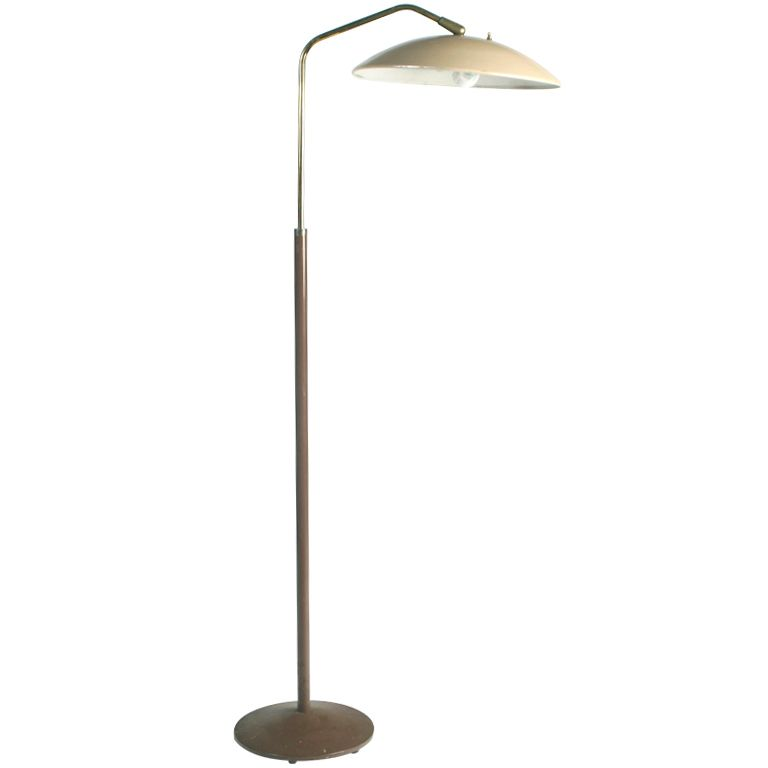 Gerald Thurston Floor Lamp - Gerald Thurston for Lightolier Floor lamp MCM Lamp