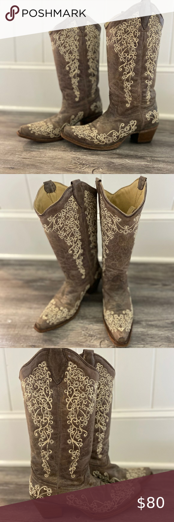 Western boots, Wide calf boots