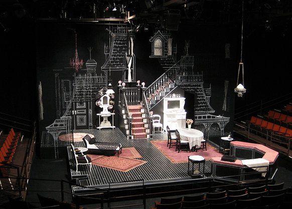 gothic scenic design - Google Search | Theatre | Pinterest ...