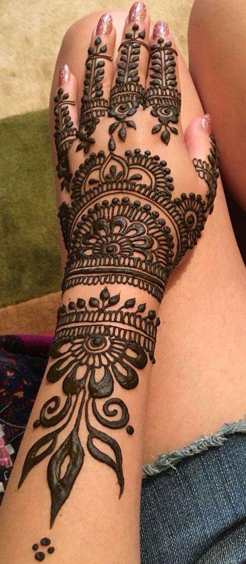 Pin de Ruman A en Mehndi/Henna ideas | Pinterest | Tatuajes, Henna y ...