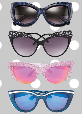 Choose your style from a range of fierce CatEye sunglasses - theMIXis
