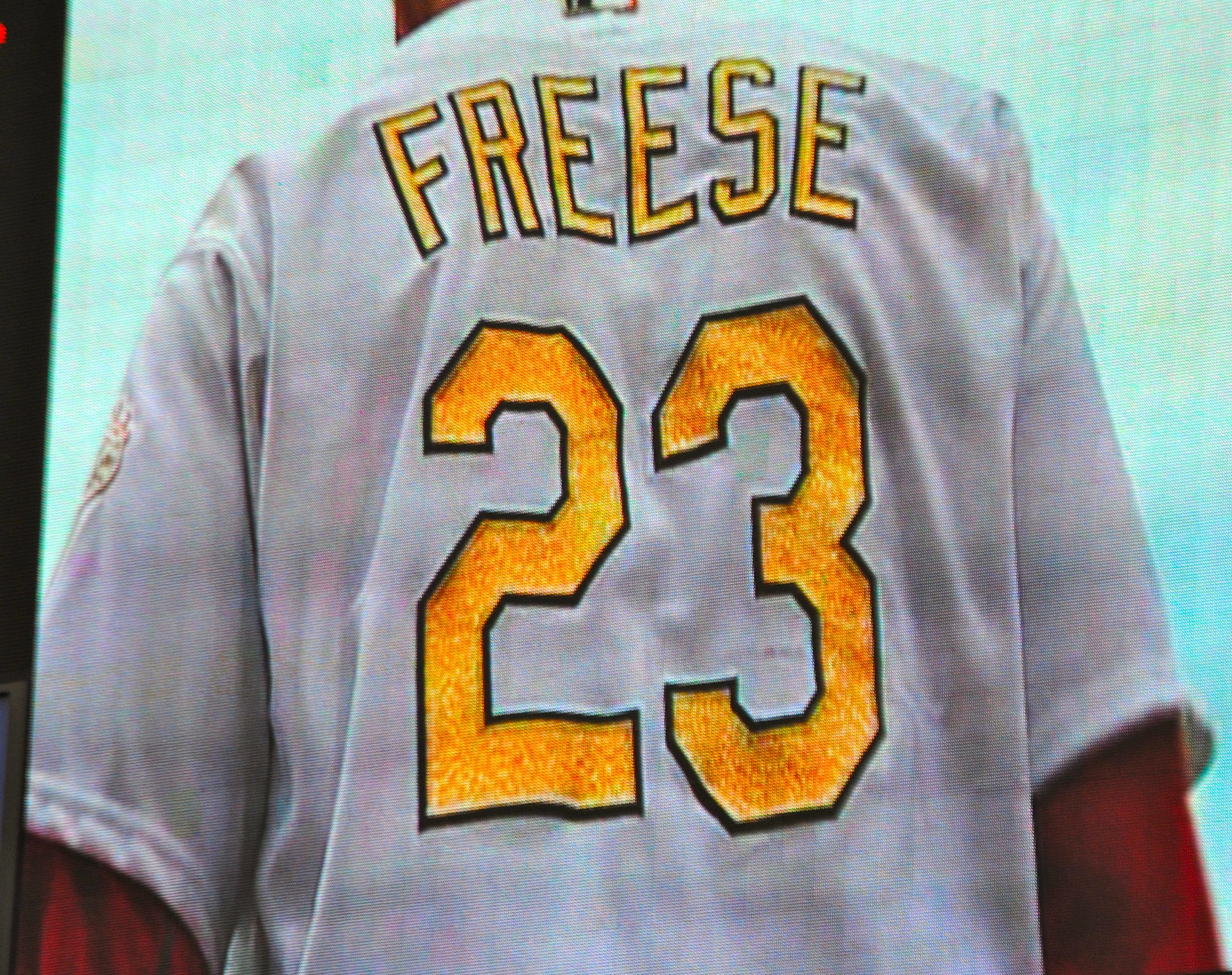 c11c08152f91 St. Louis Cardinals Gold Jersey David Freese LOVE