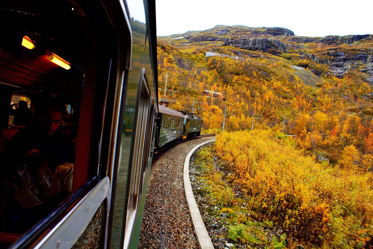 Boarding Norway's Most Famous Train the Flåm Norway