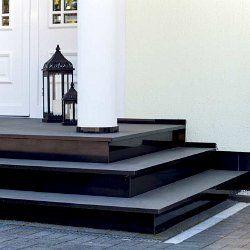 au entreppe als eingangstreppe aus granit treppe im. Black Bedroom Furniture Sets. Home Design Ideas