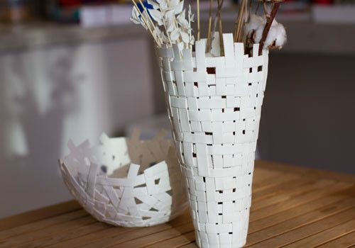 Nurture your ideas in this handcrafted porcelain vase and watch them grow!
