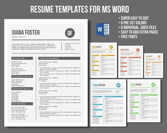 Neat Word resume templates Cover letter template and Letter - how to find resume templates on microsoft word