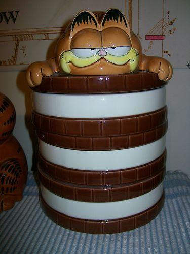 Garfield Cookie Jar Custom Garfield Cookie Jar Made In Korea By Enesco Garfield Cookie Jars