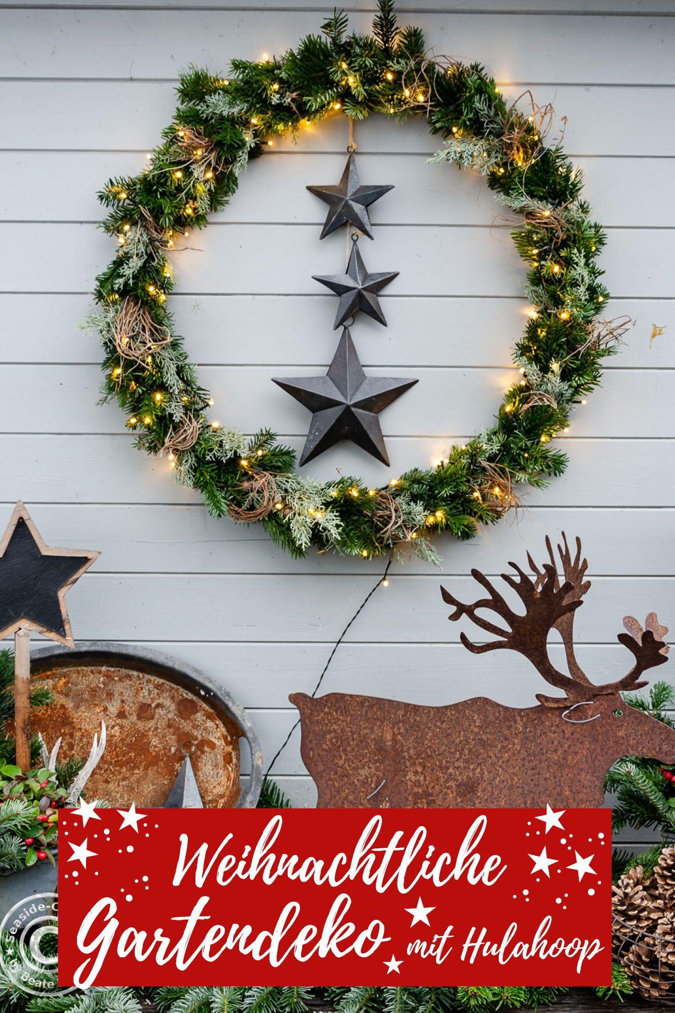 Blog Seaside Cottage Blog Deko Garten Weihnachten Weihnachten Deko Weihnachten