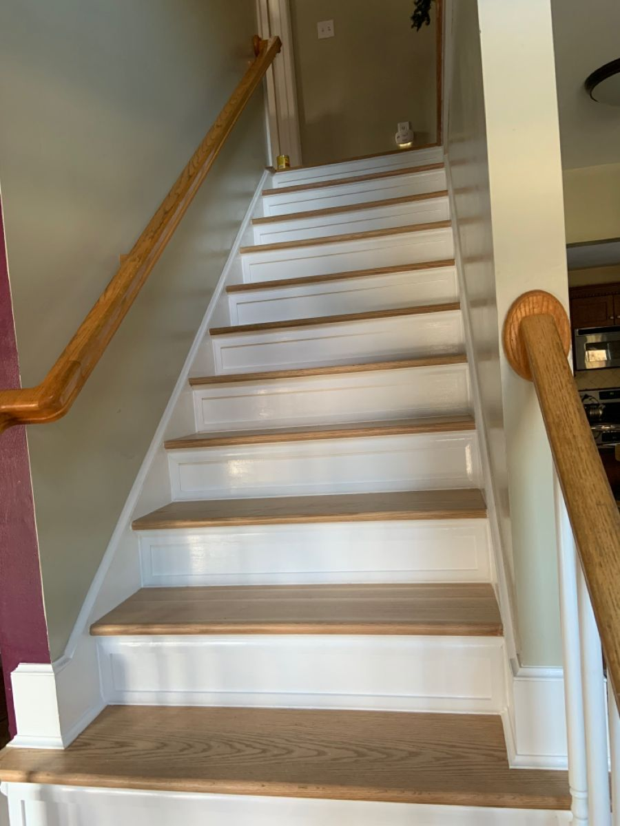 Best Staircase Remodel Completed By Snhwoodworks Included 400 x 300