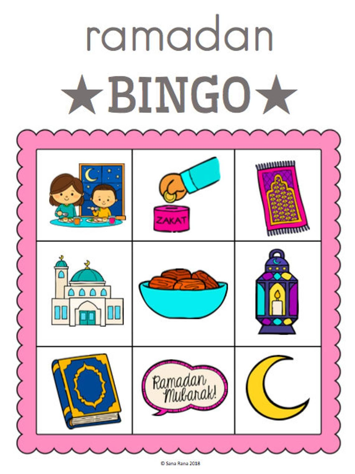 Ramadan Activity Pack Worksheet Printable Download With