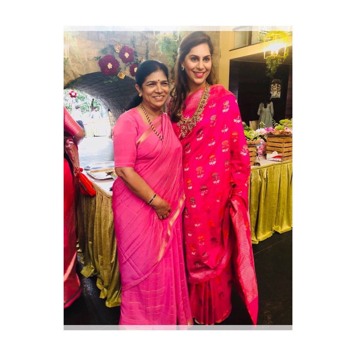 #Upasana with her Mother-in-law Performing Pooja at # ...