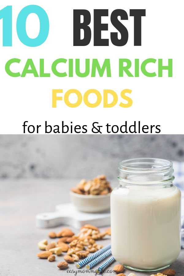 10 Best Calcium Rich Foods For Babies And Toddlers ...