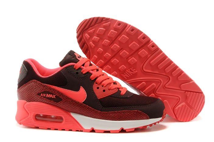e74543965ea9 sale mujeres envío gratis con nike air max 90 2015 zapatos deportivos de  color naranja brillante