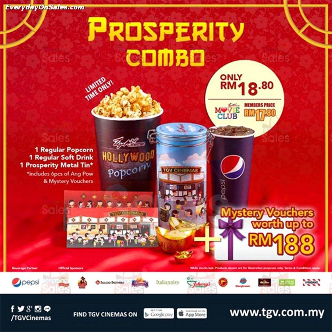 Tgv Cinemas Prosperity Combo Promotion In Malaysia Prosperity Cereal Pops Pops Cereal Box