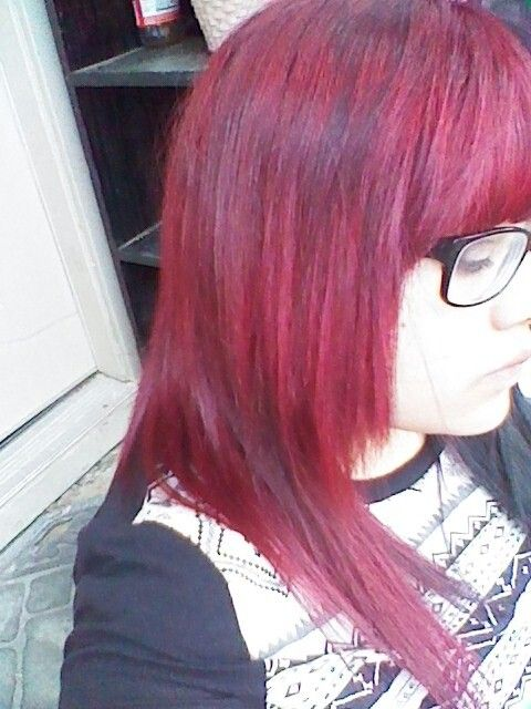 Red By Ion Color Brilliance On Faded Red Hair Redhair