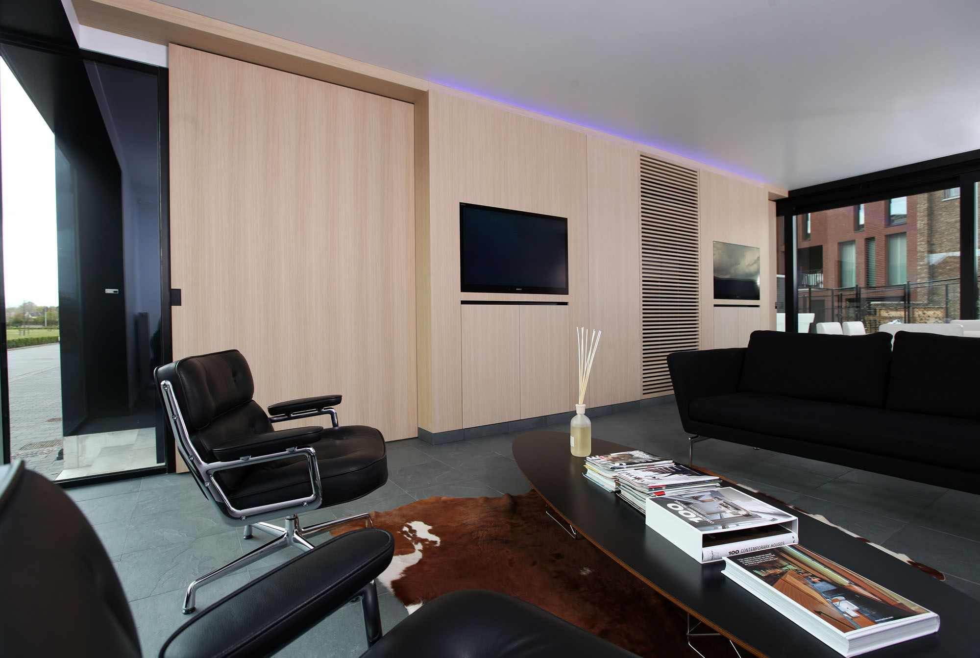 timmermans interieur kantoor inrichting designmoderninterieurkantoor hout zwart