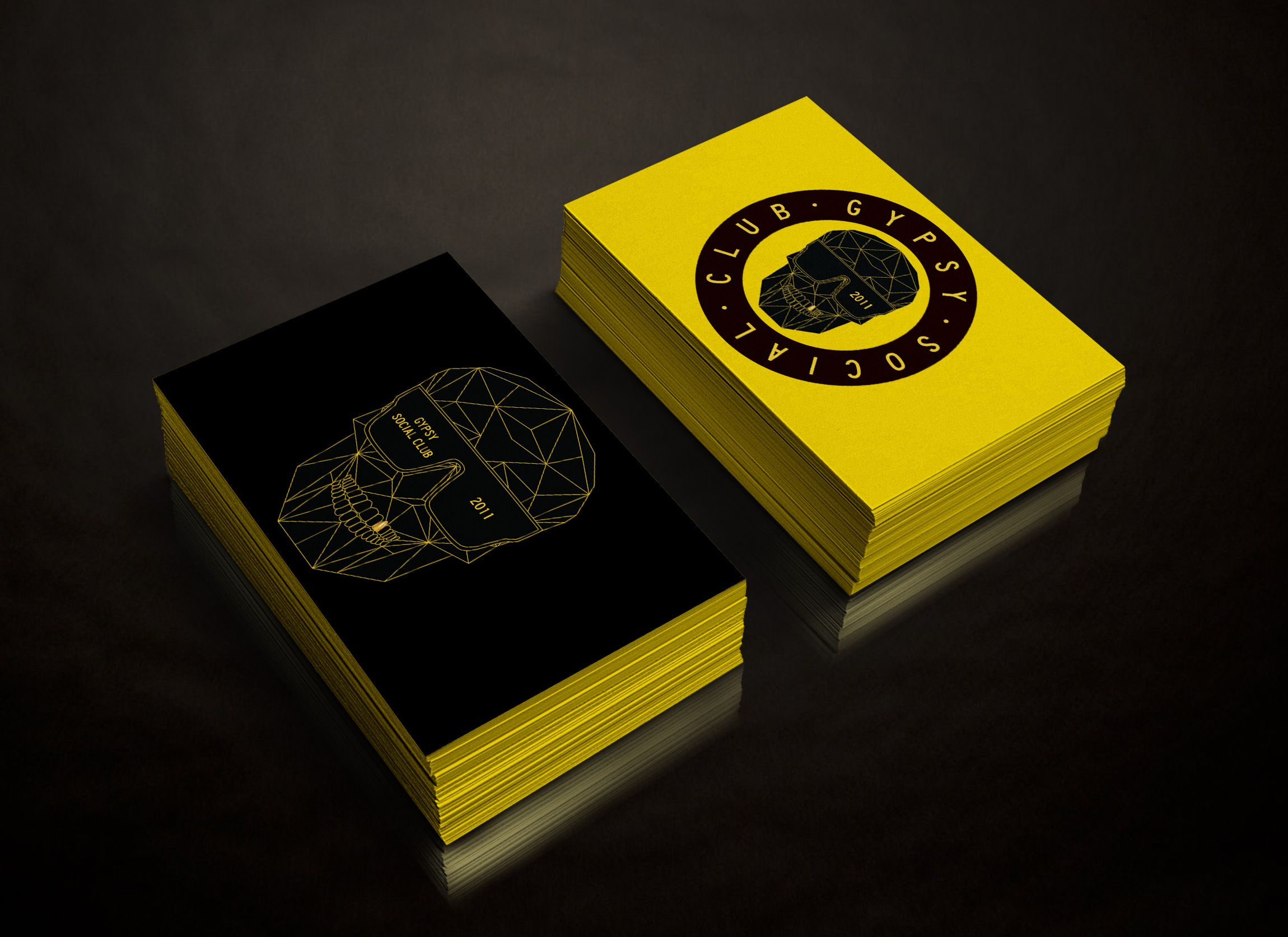gypsy social club calling card by the brand canteen