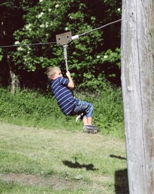 How to Use Rope for a Zip Line   raising boys in 2019 ...