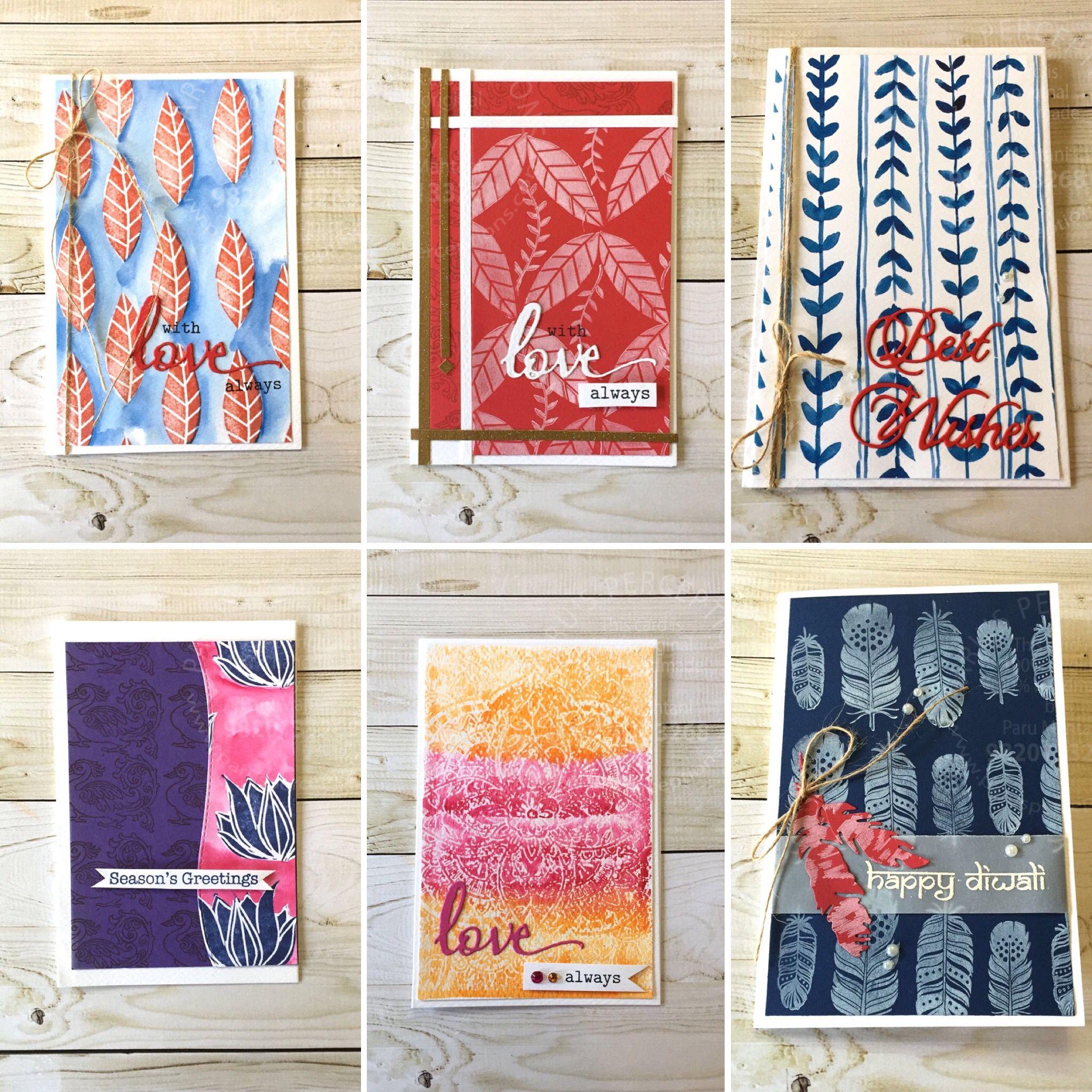 buy diwali greeting card set1  cards handmade diwali