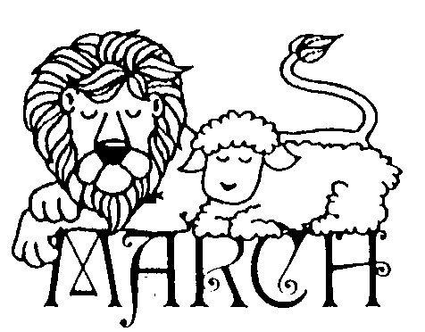 Image result for march in like a lion out like a lamb
