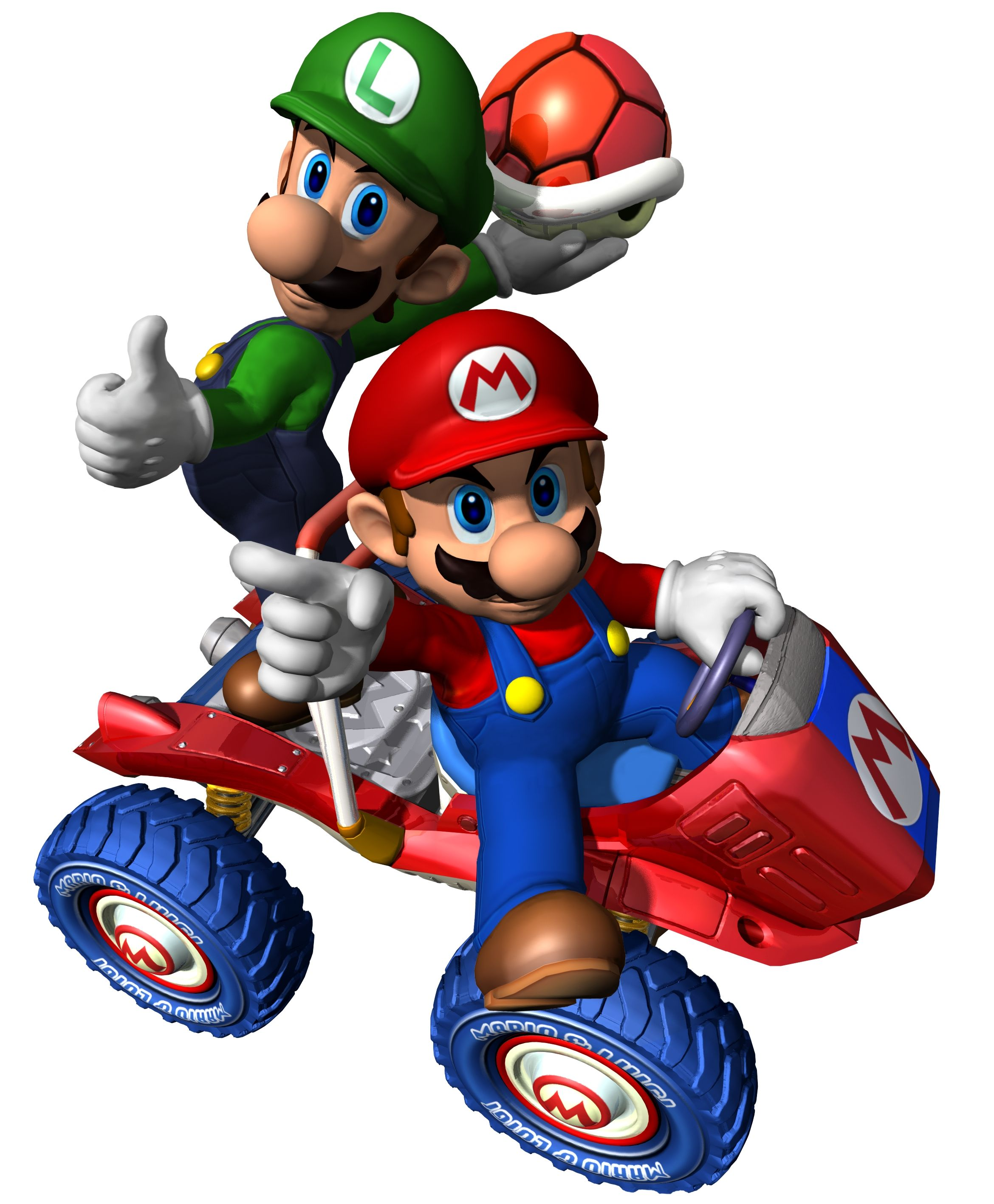 Mario And Luigi Mario Kart Double Dash Mario And Luigi Super