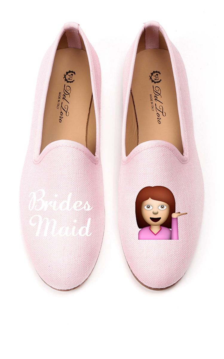 Bridesmaid Loafer In Pink by DEL TORO for Preorder on Moda Operandi