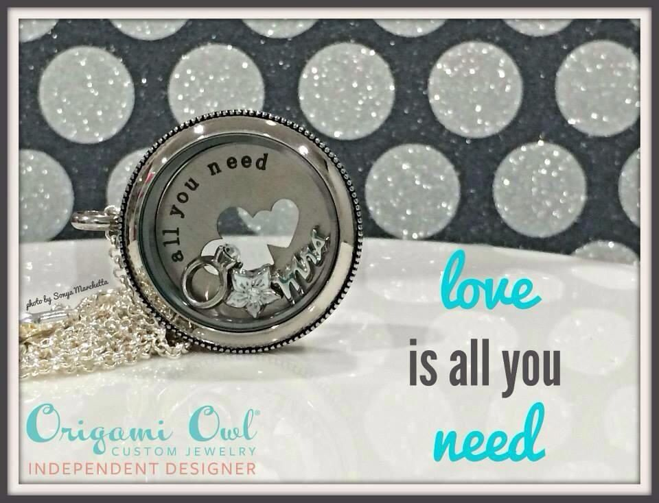 Love~ is all you need! www.michellebrock.origamiowl.com